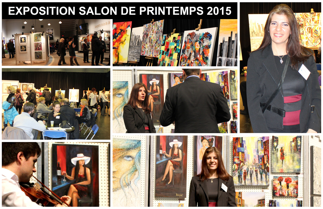 Exposition Salon de Printemps 2015